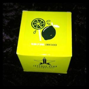 New lemon sucker lio scrub jeffree star cosmetics